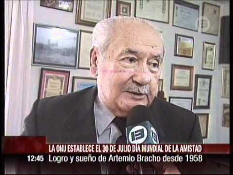 Artemio Bracho lo logró: Día Mundial de la Amistad - YouTube