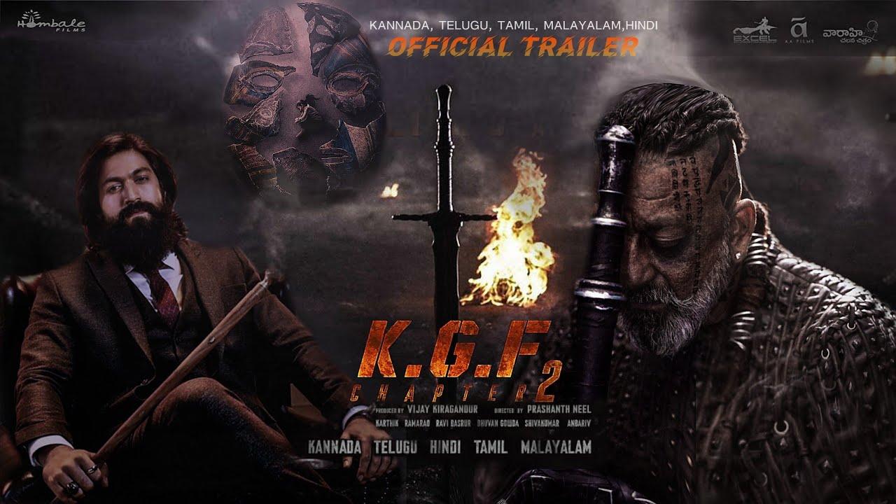 Download KGF Chapter 2: KGF 2, Sanjay Dutt, Yash,Prasanth Neel, KGF 2 Official Trailer, KGF 2 Full Movie,