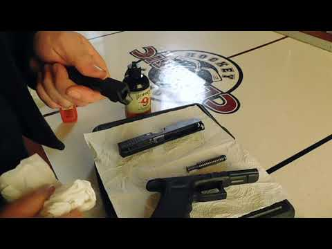How To Clean A Glock 17/19