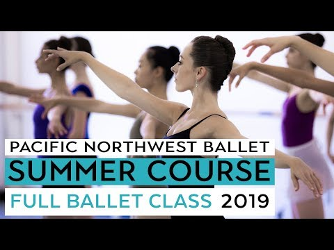 PNB Summer Course 2019 - Full Ballet Class LIVE  - Level VIII
