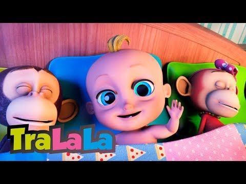 Zece maimuțele - Cântece pentru copii | TraLaLa