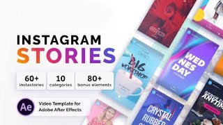 Instagram Stories (After Effects project) ★ AE Templates ★ 2018