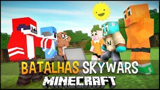 Minecraft: Apenas um Show vs O incrivel mundo de gumball - Batalhas SkyWars