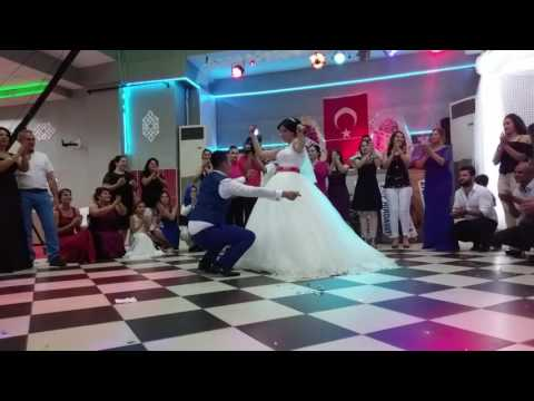 Traditional dancing at a Turkish wedding