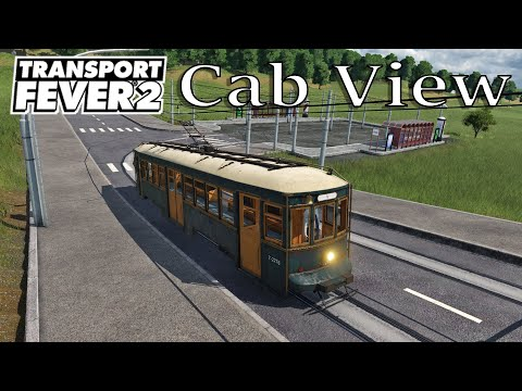 Transport Fever 2 - Cab View / First Person View / EU 37 / DL 3000 Witt |