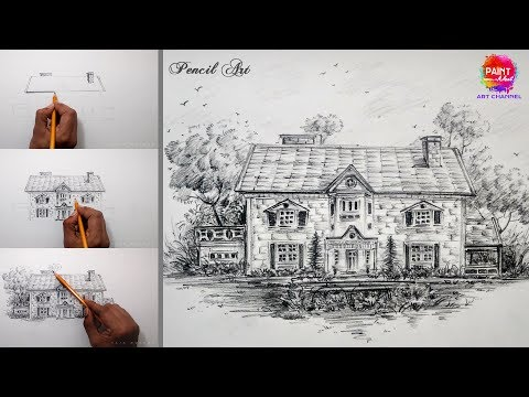 PENCIL Drawing tutorial step by step | Online art classes | Art online