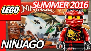 LEGO NINJAGO 2016 Summer Sets Pictures Preview from New York Toy Fair - レゴ