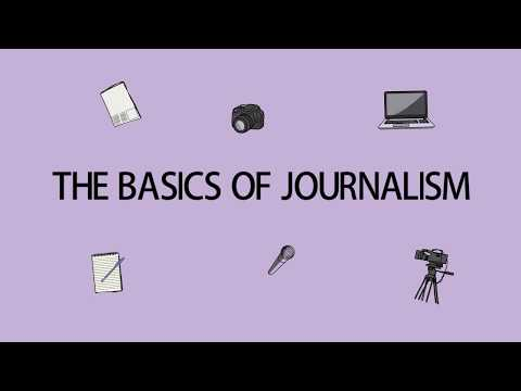 Journalism Classes For Young Journalists | The basics of Jou