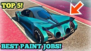 TOP 5 AWESOME PAINT JOBS FOR THE NEW DEVESTE 8 ( DEVEL 16 ) | GTA 5 ONLINE