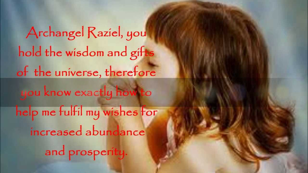 Prayers to the Angels of Prosperity and Abundance_Calling the Angels  Individually