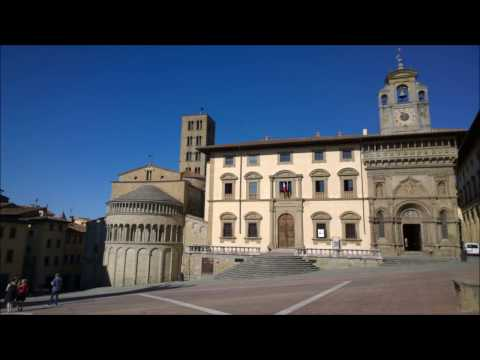 Arezzo Cathedral Guido d'Arezzo Ut queant laxis a hymn to St  John the Baptist St Francis of Assisi