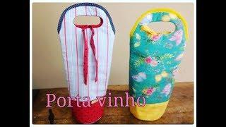 Porta Vinho ou Porta Garrafas por Dinha ateliê