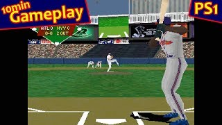VR Baseball 97 ... (PS1) 60fps
