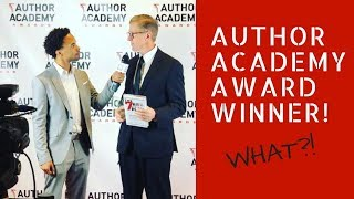 I became an award winning author - Author Academy Awards | Igniting Souls Conference 2018