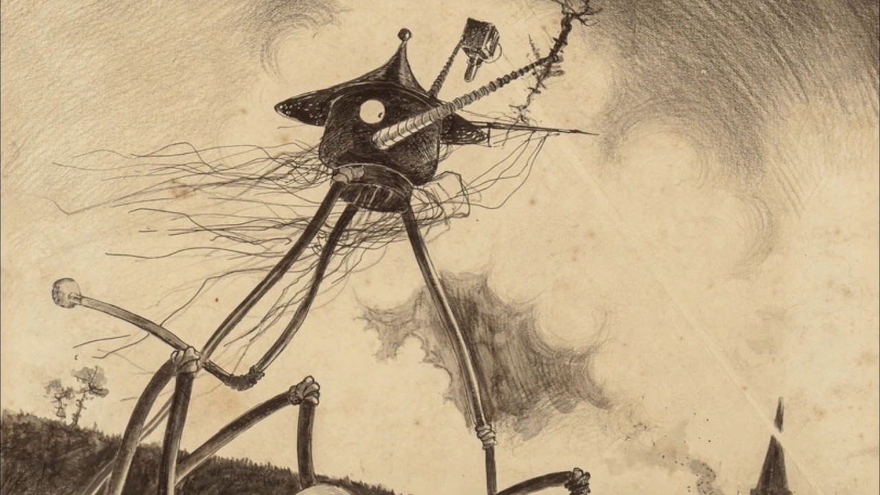 Concept Art by Alvim Corrêa for War of the Worlds (1906) - YouTube