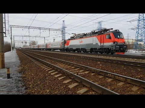 """""""Длинный Муромец"""" ЭП20-025 с поездом #48 Москва-Муром"""