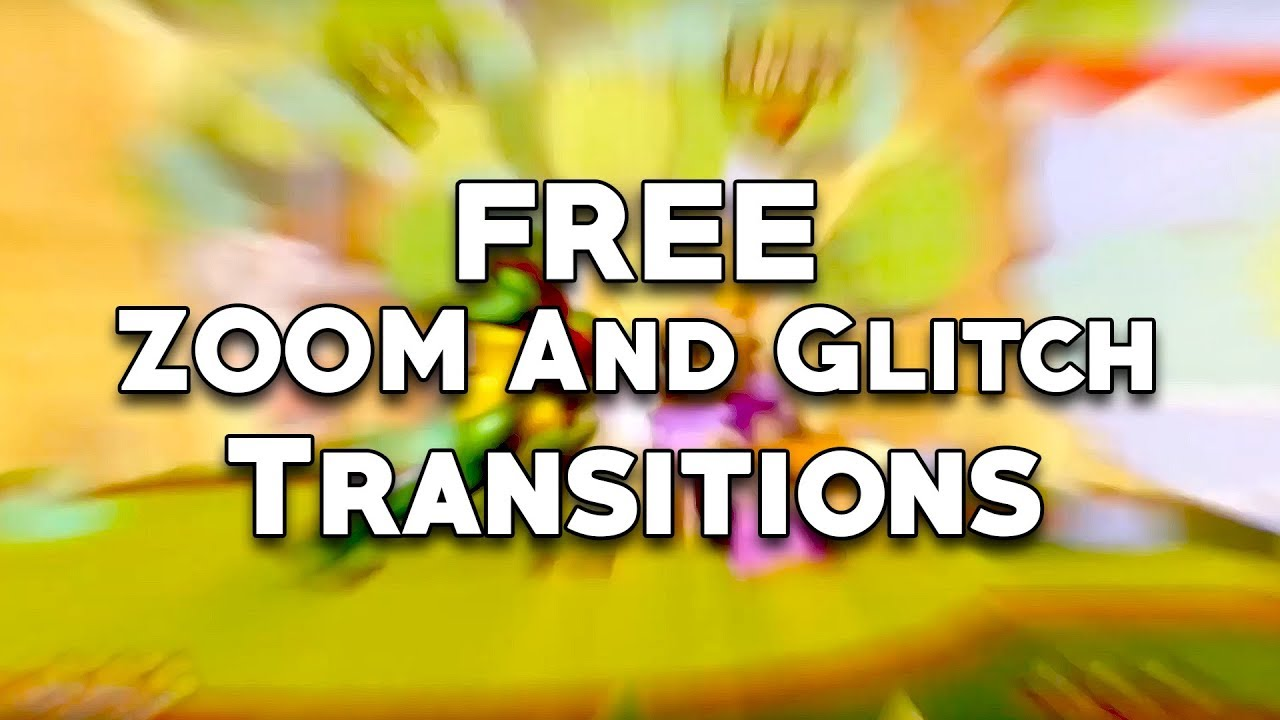 [FREE] Zoom and Glitch Transitions Presets Adobe Premiere Pro CC 2019  (Tutorial)