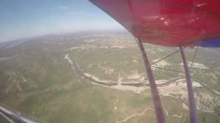 Survol du Pont du Gard en ULM