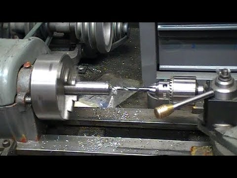 TIP: Drilling Deep Holes With A Little Lathe