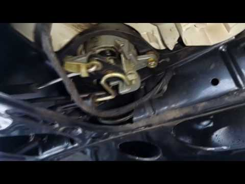 Ремонт кнопки багажника на AUDI A6 C4 седан