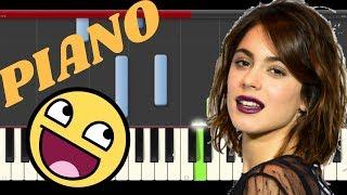 TINI  Greeicy 22 Piano Cover Midi tutorial Sheet app  Karaoke