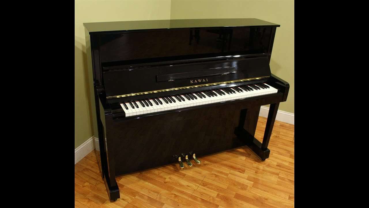 kawai k 3 size k 30e 48 39 39 studio upright piano year 2000 youtube. Black Bedroom Furniture Sets. Home Design Ideas