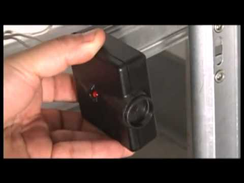 How To Align Garage Door Safety Eyes And Sensors Youtube