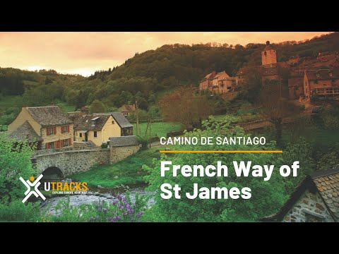 Walking the French Way of St James with UTracks