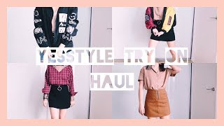 Yesstyle Try On Haul 2018