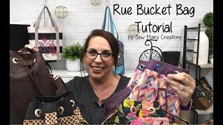 Rue Bucket Bag Tutorial