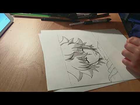 Dessin Killua hxh - YouTube