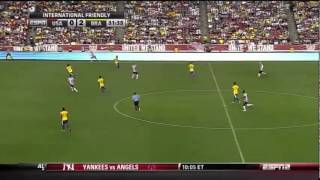 Michael Bradley world class passes vs. Brazil