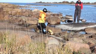 Syyskalassa Ahvenanmaan ulkosaaristossa - Fishing in Åland islands