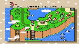 Gameplay Super Mario World - Donut Plains 1 & Secret Exit