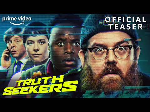 Truth Seekers   Starring Nick Frost, Simon Pegg, Samson Kayo & Emma D'Arcy   Official Teaser