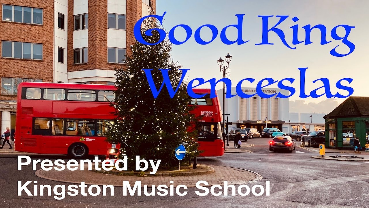 Student Christmas Video #5: Good King Wenceslas Performed by Theodora's Piano Students 🤴🏼☃️