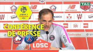 Conférence de presse LOSC - Paris Saint-Germain (5-1) / 2018-19