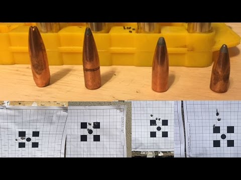 300 Win Mag And 7mm Rem Mag Bullet Testing