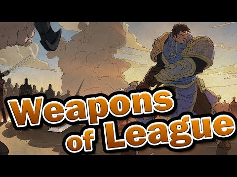 Legendary Weapons of League of Legends