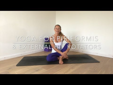 Yoga for Piriformis Release & Stabilise the External Hip Rotators