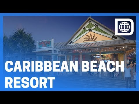 "New ""Old Port Royale"" Tour - Disney's Caribbean Beach Resort, Walt Disney World"
