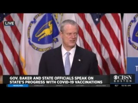 Baker: 4 Of 7 Mass Vaccination Sites In Massachusetts Will Close By End Of June