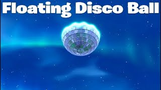 Fortnite *NEW* Floating Disco Ball... REPLAY MODE GLITCH