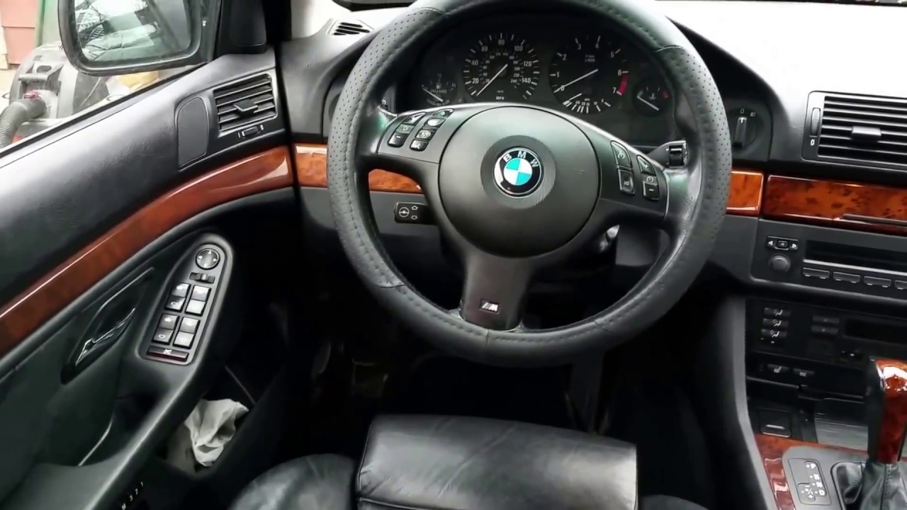 Bmw e39 m sport interior youtube for Interieur sport youtube