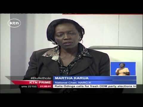 EXCLUSIVE: Martha Karua talks about the success of Okoa Kenya Initiative