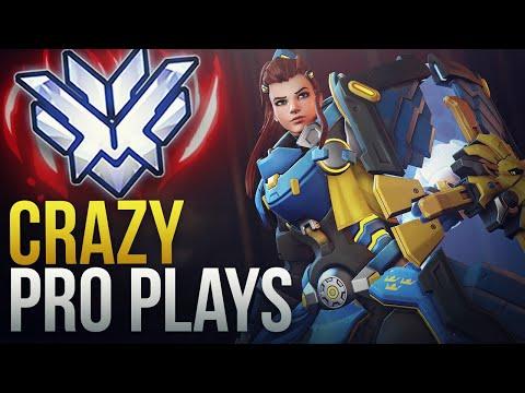 CRAZY PRO PLAYS - Overwatch Montage