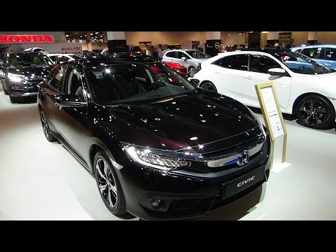 2018 Honda Civic 1.5 VTEC Executive Premium - Exterior and Interior - Auto Zürich Car Show 2017