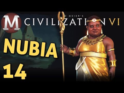 Civilization 6 - Let's Play Nubia #14 - You What Now??