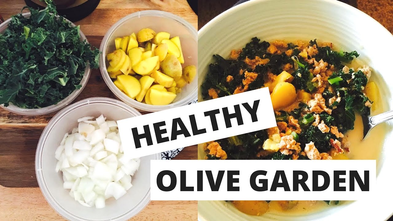 Olive Garden Made Healthy Meal Prep Makeovers Bikini Prep 5 Youtube