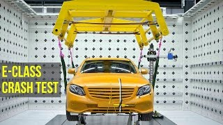 Mercedes E-Class Crash Test - Better than 5 Stars